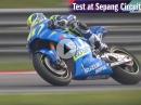 Suzuki MotoGP Test in Sepang Espargaro / Vinales / GSX-RR Ecstar