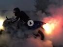 Suzuki SRAD 750: Burnout bestanden, Moped dahin...