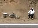 Suzuki SV650 Motorradunfall Wo? Ihr ahnt es schon: Mulholland Highway *rofl*