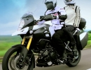 Suzuki V-Strom 1000 ABS 2014 - in Action
