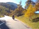 Suzuki Vstrom 650 vs. BMW GS1200 am Albula (Schweiz, Graubünden)