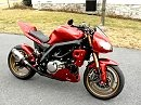 SVeetfighter Streetfighter style motorcycle - Suzuki SV650