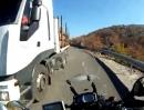 Szenen eines Balkan-Motorrad-Urlaubes Ups!