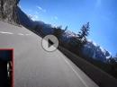 Tannheimer Tal mit Ducati Monster bei schönstem Wetter