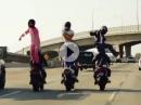 Tanzen auf der Autobahn - Harlem Shake bis einer weint :-)