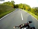 Taunustour mit Motorrad Richtung Gävenwiesbach