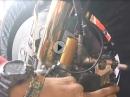 Technische Nahaufnahmen: Vorderradbremse bei Pramac Racing (Ducati Desmosedici)