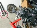 Teil 3 Gabel, Rahmen krumm? Crash / Wiederaufbau Suzuki GSX-R 750