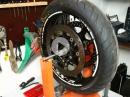 Teil 4 Krumme Gixxer: Finale Bestandsaufnahme Crash / Wiederaufbau Suzuki GSX-R750