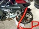 Teil 6 Vorderbau neu und gerade?! Crash / Wiederaufbau Suzuki GSX-R 750