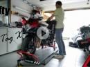 Teil 8 Vermessen, Verkleidungsreparatur - Crash / Wiederaufbau Suzuki GSX-R 750