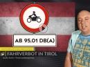 """Tempolimit nur für Motorräder, Fahrverbot für """"zu laute"""" Motorräder in Tirol uvm. Motorrad Nachrichten"""