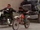 Terminator II - legendäre Verfolgungsjagd auf Harley-Davidson Fat Boy