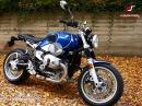 BMW RnineT/5 Test des Sondermodells von Asphalt Süchtig