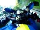 Test GoPro Hero Wiestal mit Suzuki GSXR1000 K8 Rizla