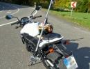 Test Rotormount 360° mit zwei Rollei S50 Wifi auf Suzuki GSR 750 ABS