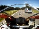 Testride Ducati Panigale 2 bis 6 Gang ohne Quickshifter - entsichert