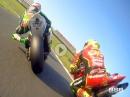 Finaler Onboard Knaller: Brands Hatch British Superbike , final run 2107 (MCE BSB)  - Highlights