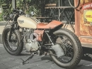 The Pharell Racer. Basis: Yamaha SR400 by Zeus Custom Caferacer