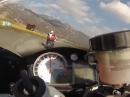 The power of BMW S1000RR erste Testfahrt in Rijeka