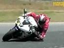 Ales Circuit Pole Mecanique - The Race Academy 2009 in Szene gesetzt von VideoBiker