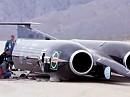Thrust SSC - Schnellstes Fahrzeug der Welt - 1149 km/h - JETZT werden 1600km/h angepeilt !