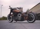 Thunderbike Copper Fury, customized Harley-Davidson Softail Slim