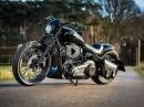 Thunderbike Dark Talon, Bikeporn - Basis Harley-Davidson Street Bob by Thunderbike