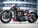 Thunderbike GT-3, customized Harley-Davidson FXDR, BikePorn by Thunderbike