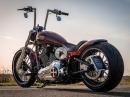 Thunderbike Modern Classic - customized Harley-Davidson Softail Breakout, BikePorn by Thunderbike