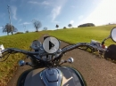 Thurgau, Schweiz - Motorradwandern im Herbst