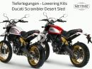 Tieferlegung Ducati Scrambler Desert Sled | Team Metisse