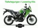 Tieferlegung Kawasaki Versys-X 300 bis zu 60 mm - von Team Metisse