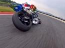 Tiefflug Mugello onboard, Niccolo Canepa, Yamaha R1 - niedrige 1:51 Eskalation