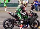 FlyBy Tiefflug: Kawasaki Ninja H2R in Suzuka - Leck mich fett