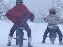 Tigerman 3 vs Monkeyman - Durchgeknallt im Schnee, geht geil steil