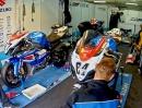Timelapse / Zeitraffer Rollei S50 in der Box von Suzuki HPC-Racing bei der IDM
