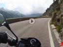 Timmelsjoch, Dolomiten entspannt mit Aprilia Tuono V4 APRC