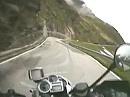 Timmelsjoch italienische Seite Südtirol Italien mit BMW R 1200 GS vom 10.06.09