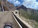 Timmelsjoch (Passo del Rombo) abwärts mit KTM 1190 Adventure