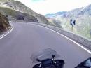 Timmelsjoch / Passo del Rombo mit BMW R1200 GS