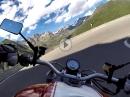 Timmelsjoch über Kesselberg, Brenner, Jaufenpass mit Ducati Monster