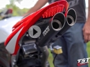 Toce T-Slash, Honda CBR600RR, Auspuffanlage Sound und Optik top