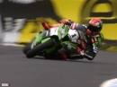 Tom Sykes Crash WSBK Phillip Island 2014 bei der Superole 2