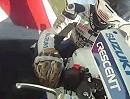 Tommy Hill onboard Suzuki GSXR 1000 auf der Maloche in Snetterton