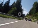 Tonalepass (Passo del Tonale) von Dimaro komment mit BMW R1200 GS