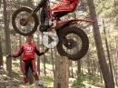 Toni Bou und Montesa Cota300RR beim testen - Magic