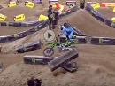 Toronto 250SX Highlights 2017 Monster Energy Supercross - Zach Os­bor­ne wins