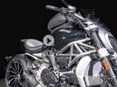 Touring Kit für Ducati XDiavel: Windschild, Sitzbank, Magnet - Tankrucksack
