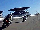 Trackcam.de - Schräglage auch zu zweit - Motorrad Renntaxi Spass pur